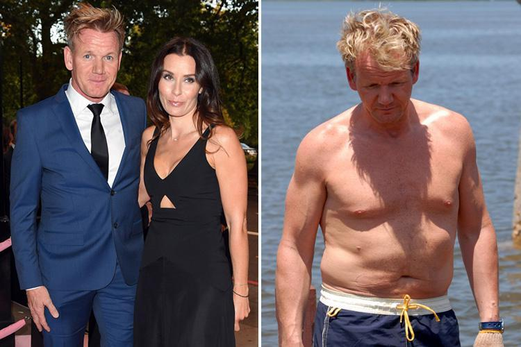 Gordon Ramsay lost four stone over fears his wife would leave him when his weight ballooned to 18 stone