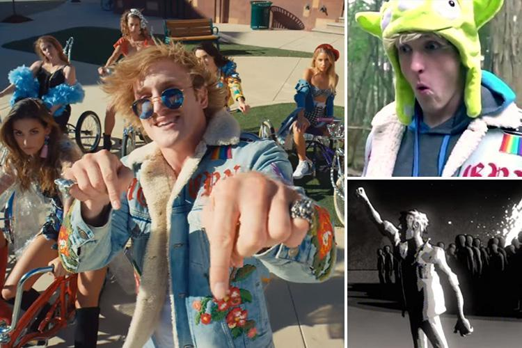 Under fire YouTube star Logan Paul once sparked outrage with 'tacky, sexist' remake of hip hop video – The Sun