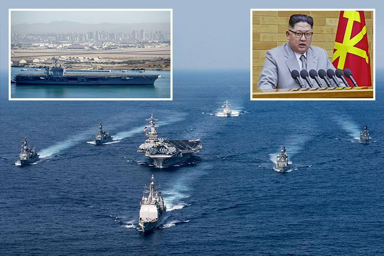 US nuclear supercarrier that dumped Osama bin Laden's body at sea sent to North Korea ahead of Winter Olympics