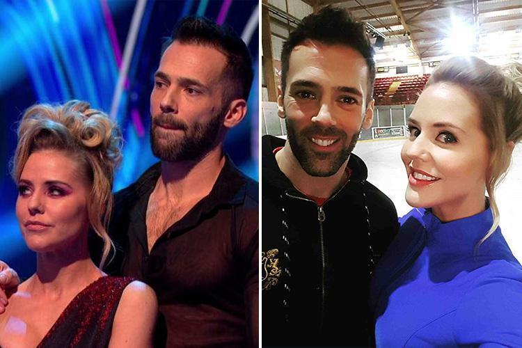 Dancing On Ice stars Stephanie Waring and Sylvain Longchambon slam judges Torvill and Dean for breaking the rules by saving Lemar after he stumbled in skate off