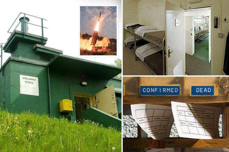 Inside hidden nuclear cold war shelter in Inside nuclear cold war shelter hidden in York housing estate which could save us if Kim Jong-un attacks Britainwhich could save us if Kim attacks Britain