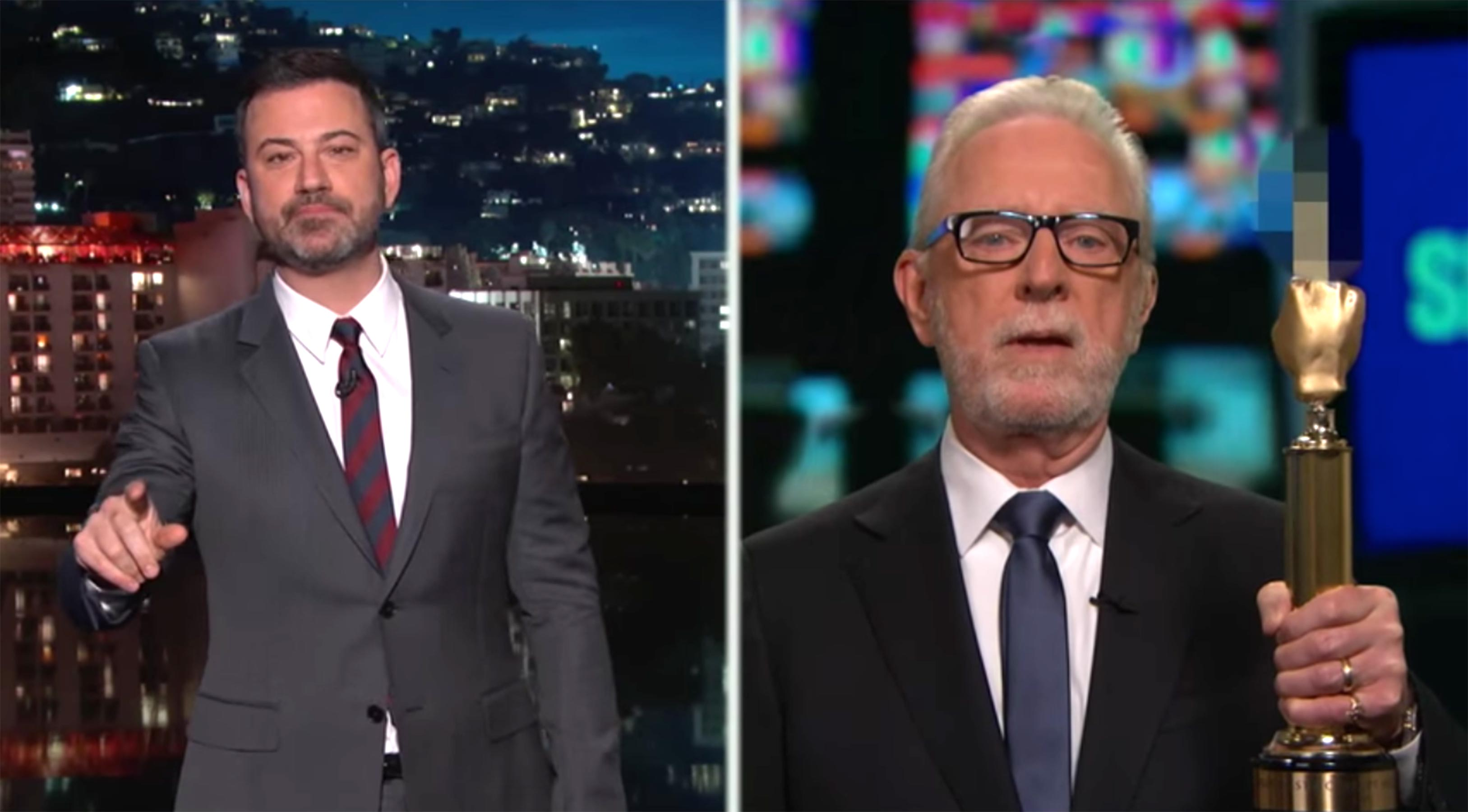 Trump Fake News awards: Wolf Blitzer accepts on Jimmy Kimmel Live