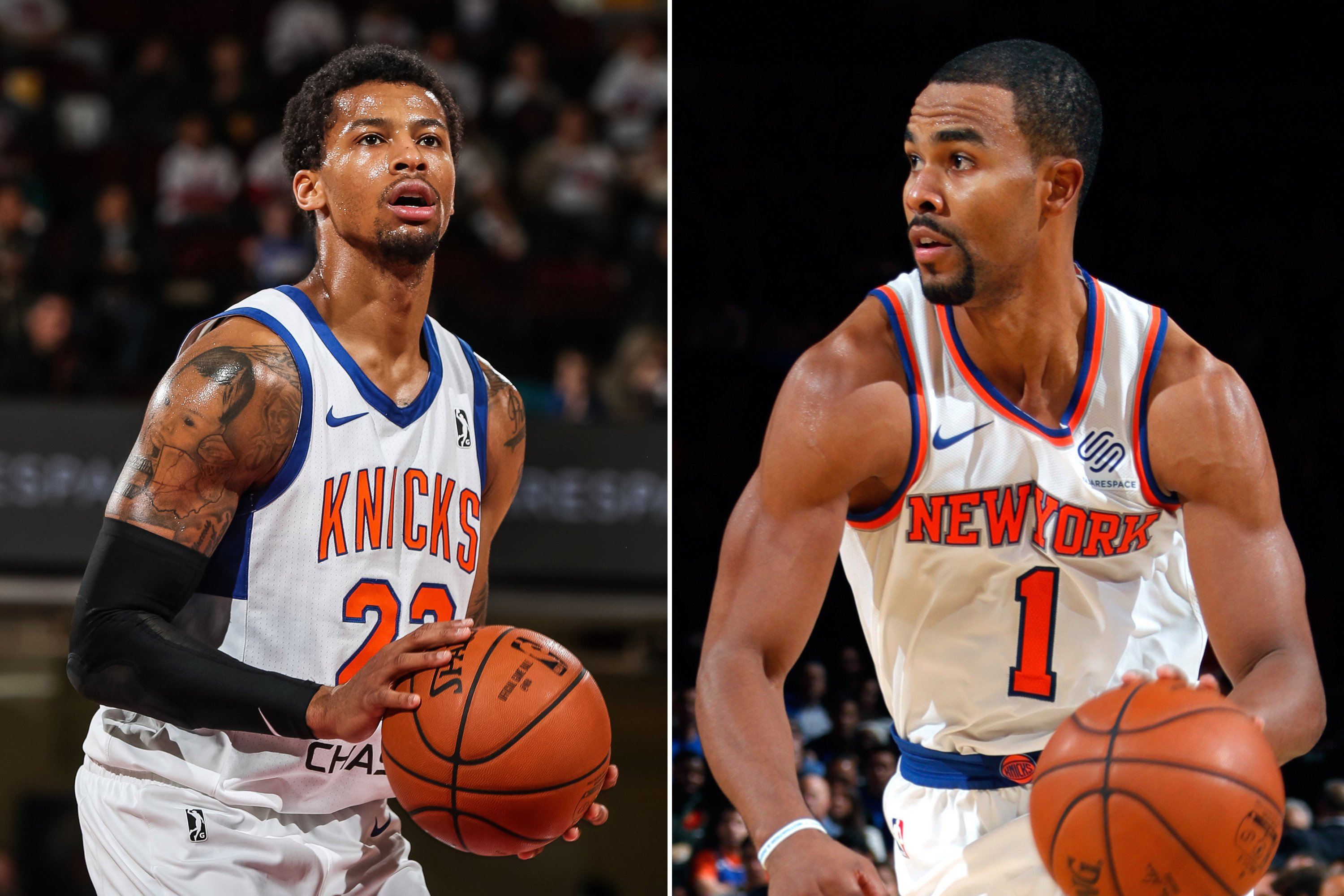 Knicks shuffle roster to give lottery bust a second chance