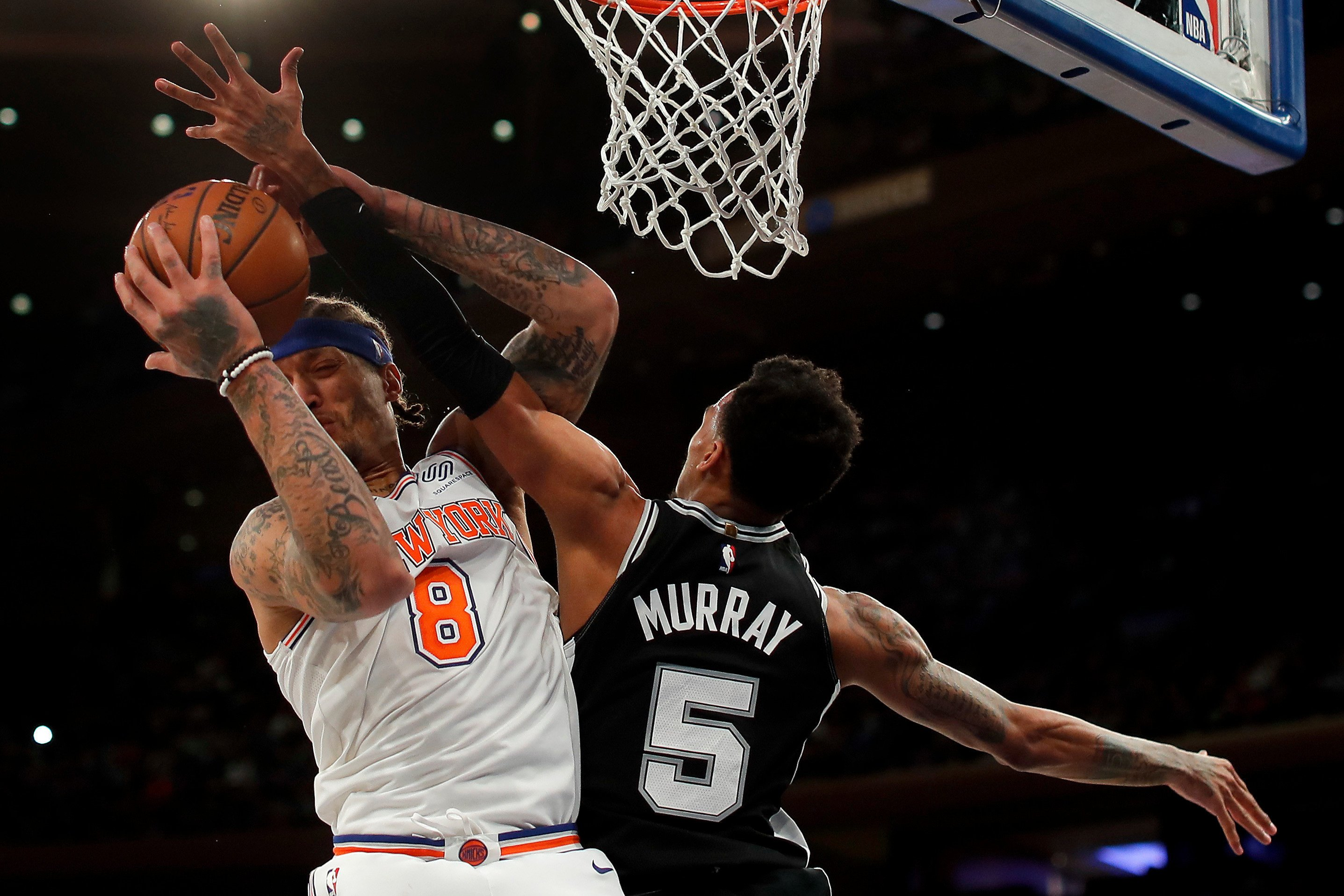 Michael Beasley couldn't coax Knicks out of poor shooting night