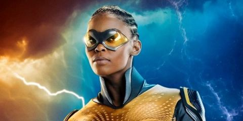 Black Lightning unveils first look at DC hero Thunder
