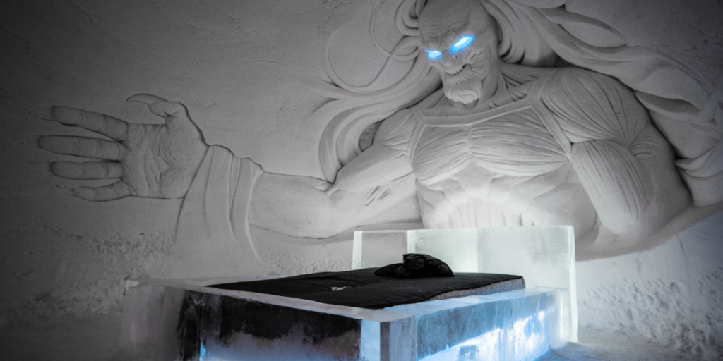 Game of Thrones now has its own ice hotel and it looks incredible