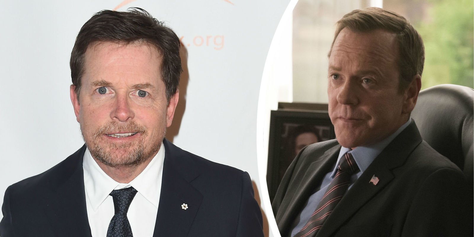 Michael J Fox will face off with Kiefer Sutherland in new episodes of Designated Survivor