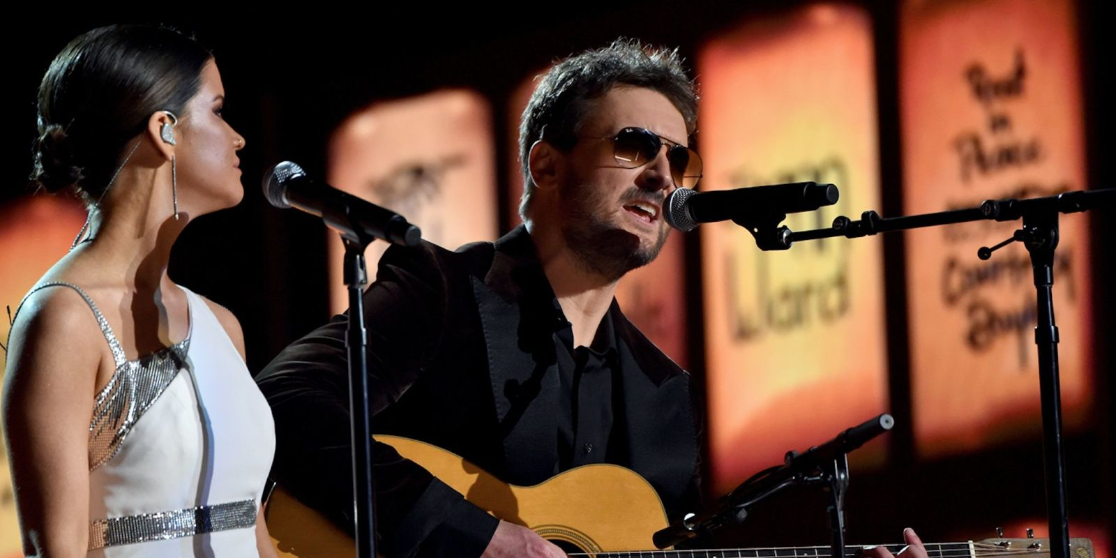 Eric Church leads Grammys 2018 tribute to Las Vegas and Manchester shooting victims