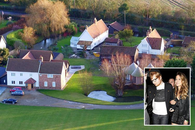 Ed Sheeran buys FOUR homes next to each other in sleepy Suffolk village