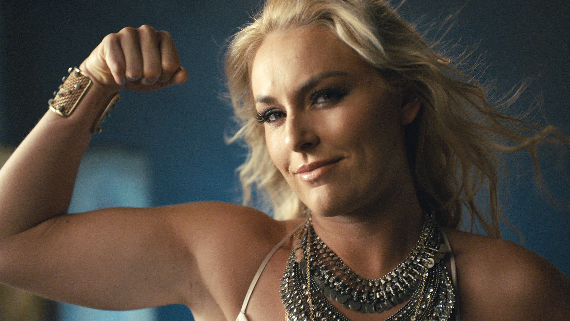 Super Bowl LII: Lindsey Vonn is on fire in Olympics Super Bowl ad