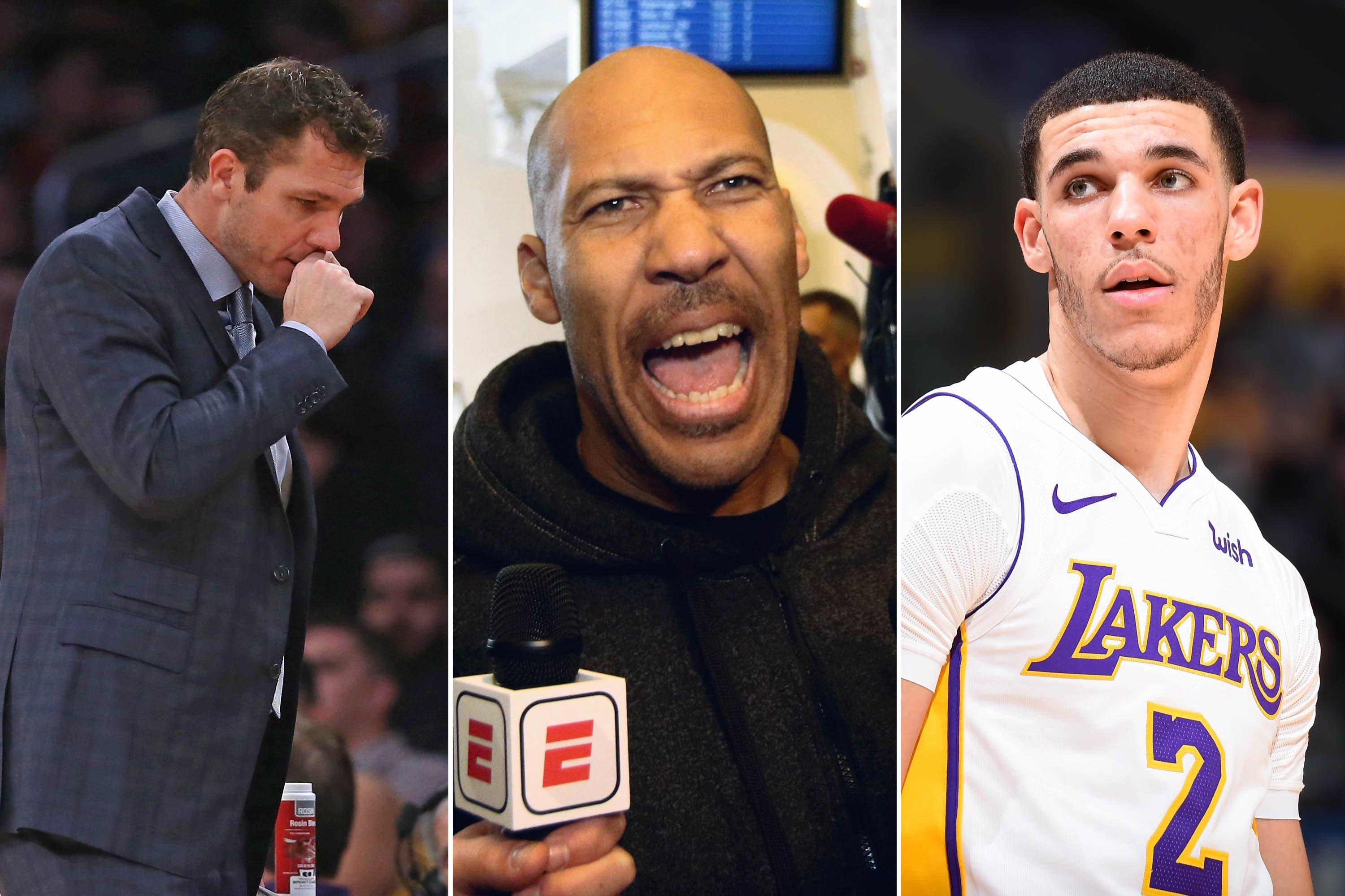 NBA teams trying to threaten media away from LaVar Ball