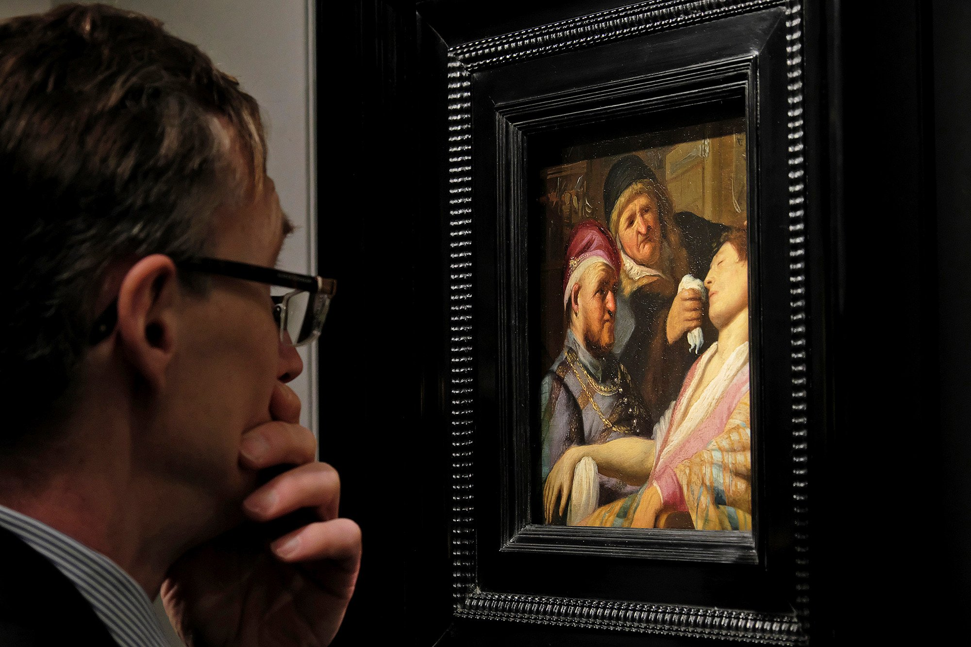 Rembrandt painting found in basement auctions for $1M