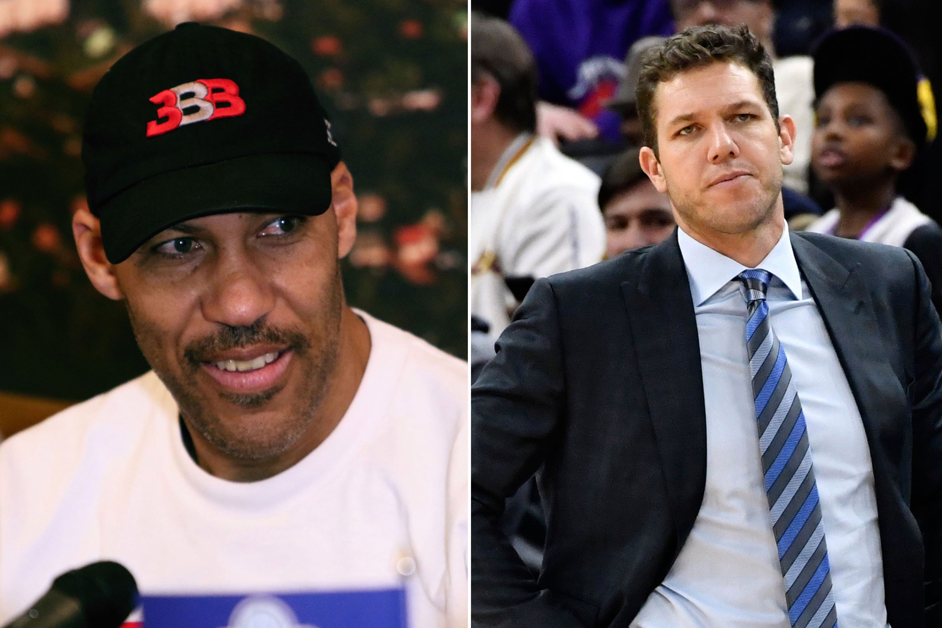 LaVar Ball launches attack aiming for Luke Walton's head