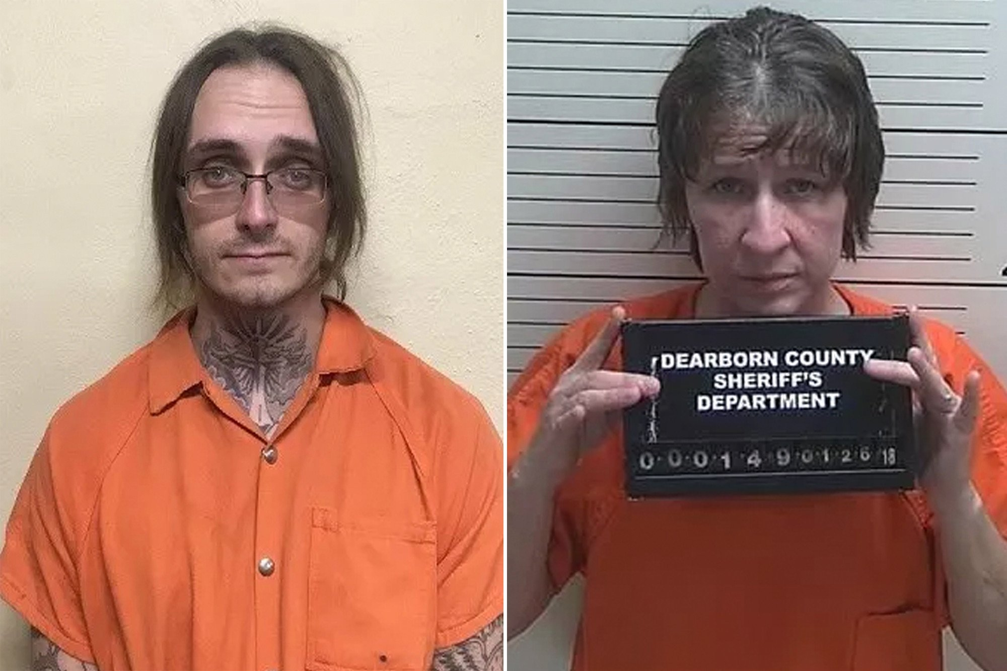 Couple charged in slayings of mom, grandfather