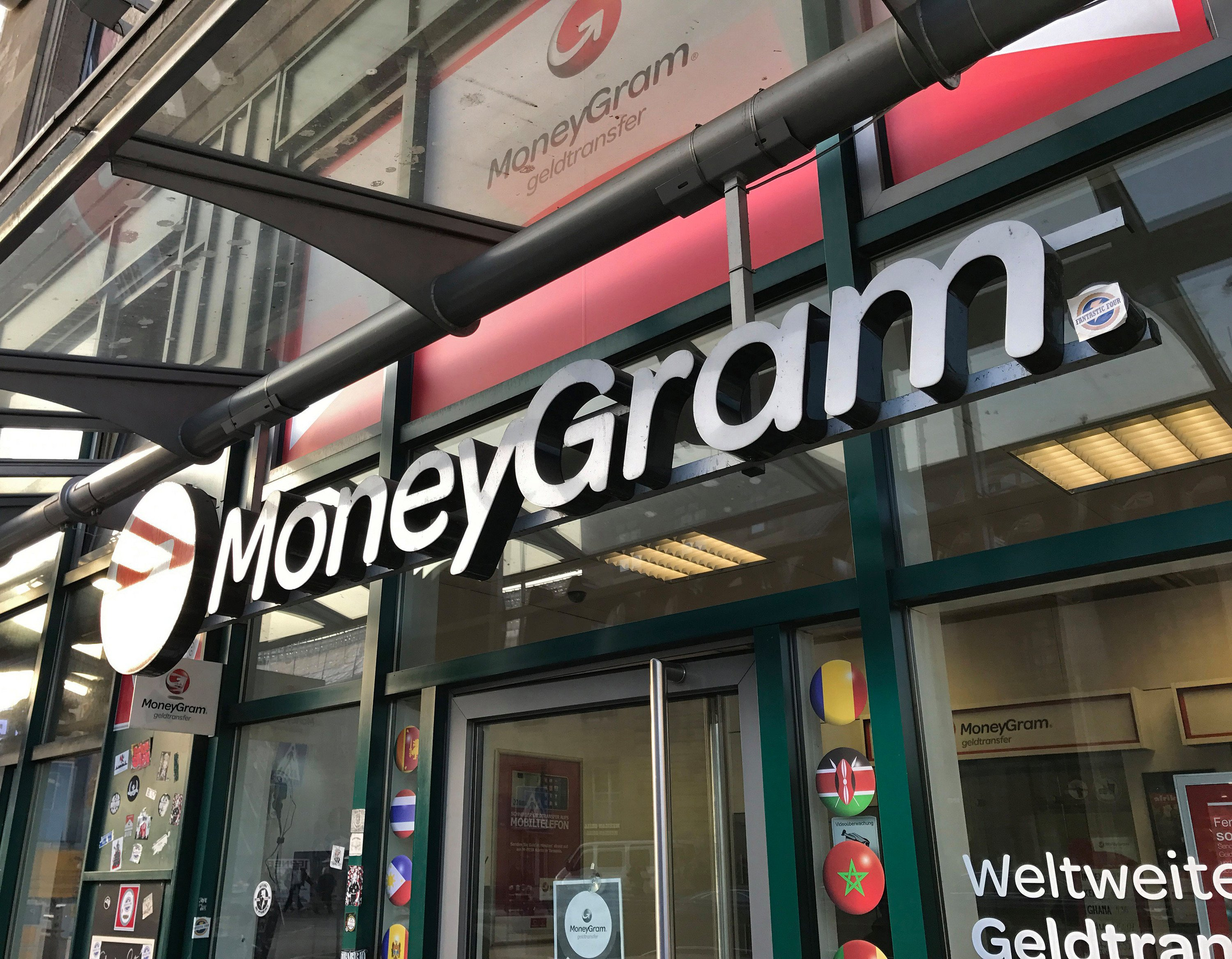 MoneyGram's stock leaps on blockchain partnership