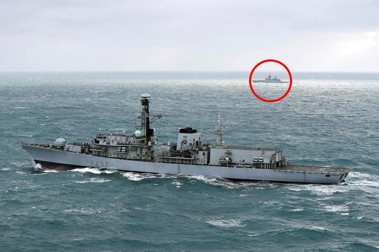 HMS Westminster scrambled to intercept fleet of Russian navy ships in English Channel