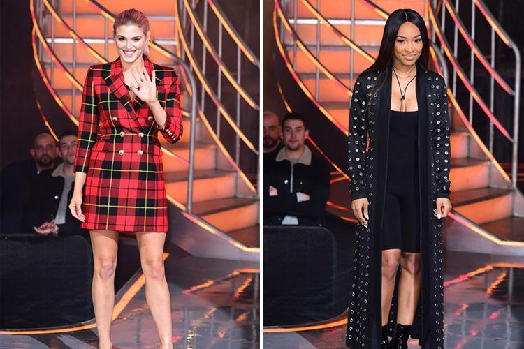 Celebrity Big Brother's Ashley James and Malika Haqq become first housemates to get the boot in semi-final triple eviction