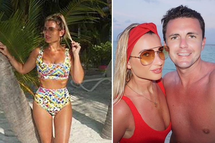 Billie Faiers looks incredible in a bikini after celebrating her birthday in the Maldives