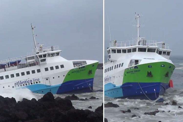 70 people rescued after passenger ferry crashes near tourist island in Atlantic Ocean