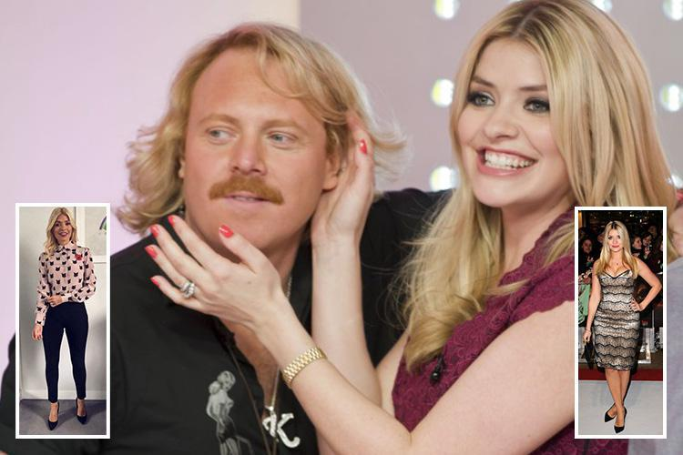 Holly Willoughby's weight loss secret finally revealed as pal Keith Lemon says it's all down to boxing – and she might even release a DVD!
