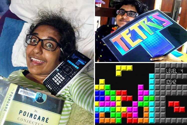 Student, 20, 'plans to marry TETRIS after her relationship with a calculator called Pierre ended when she lost it'