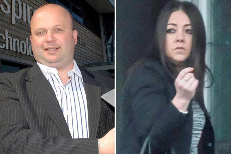 Armed cops swoop in at airport after a jealous ex-missus accuses tycoon of kidnapping their kids