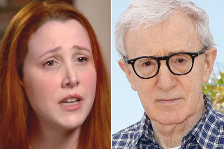 Woody Allen's adopted daughter Dylan Farrow reveals graphic details of director's 'sex abuse' as she played with toy train aged seven