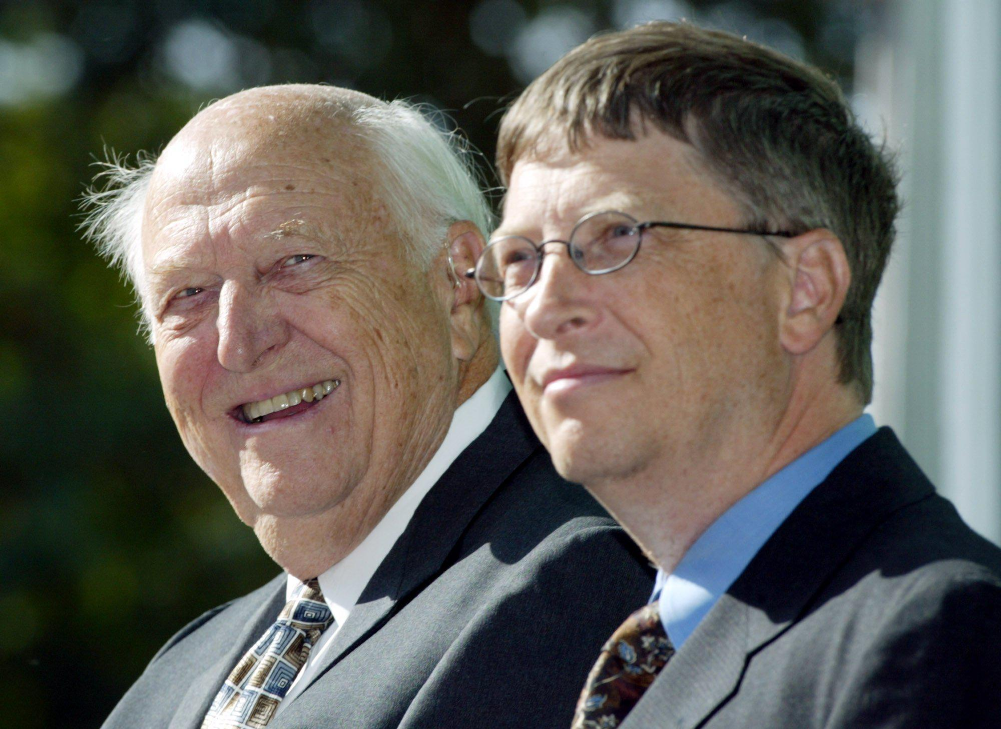 Bill Gates reveals his dad has Alzheimer's — now he's spending around £71million on trying to find a cure
