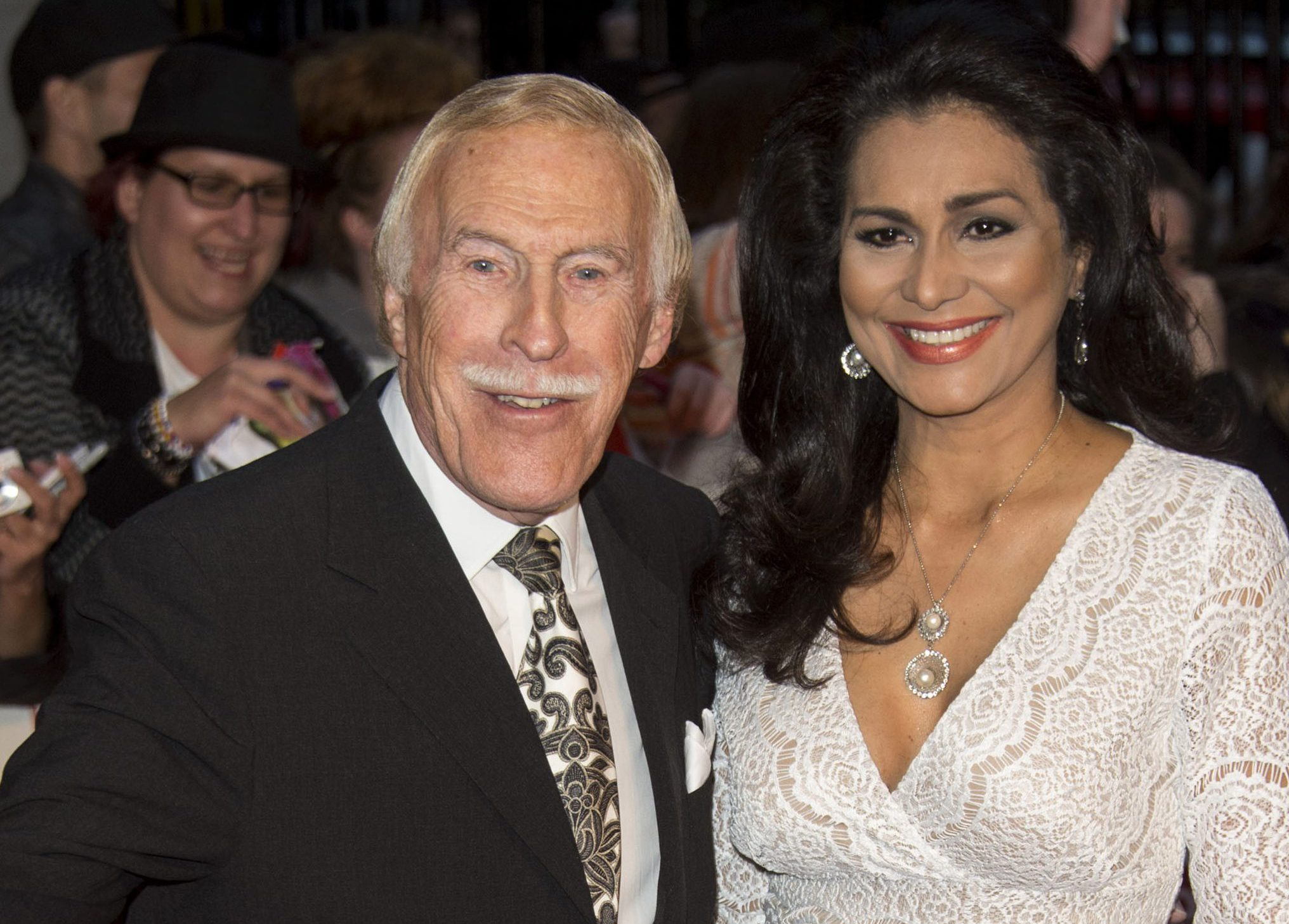 Who is Wilnelia Merced? Bruce Forsyth's widow who presented an award at the NTAs 2018 in his honour