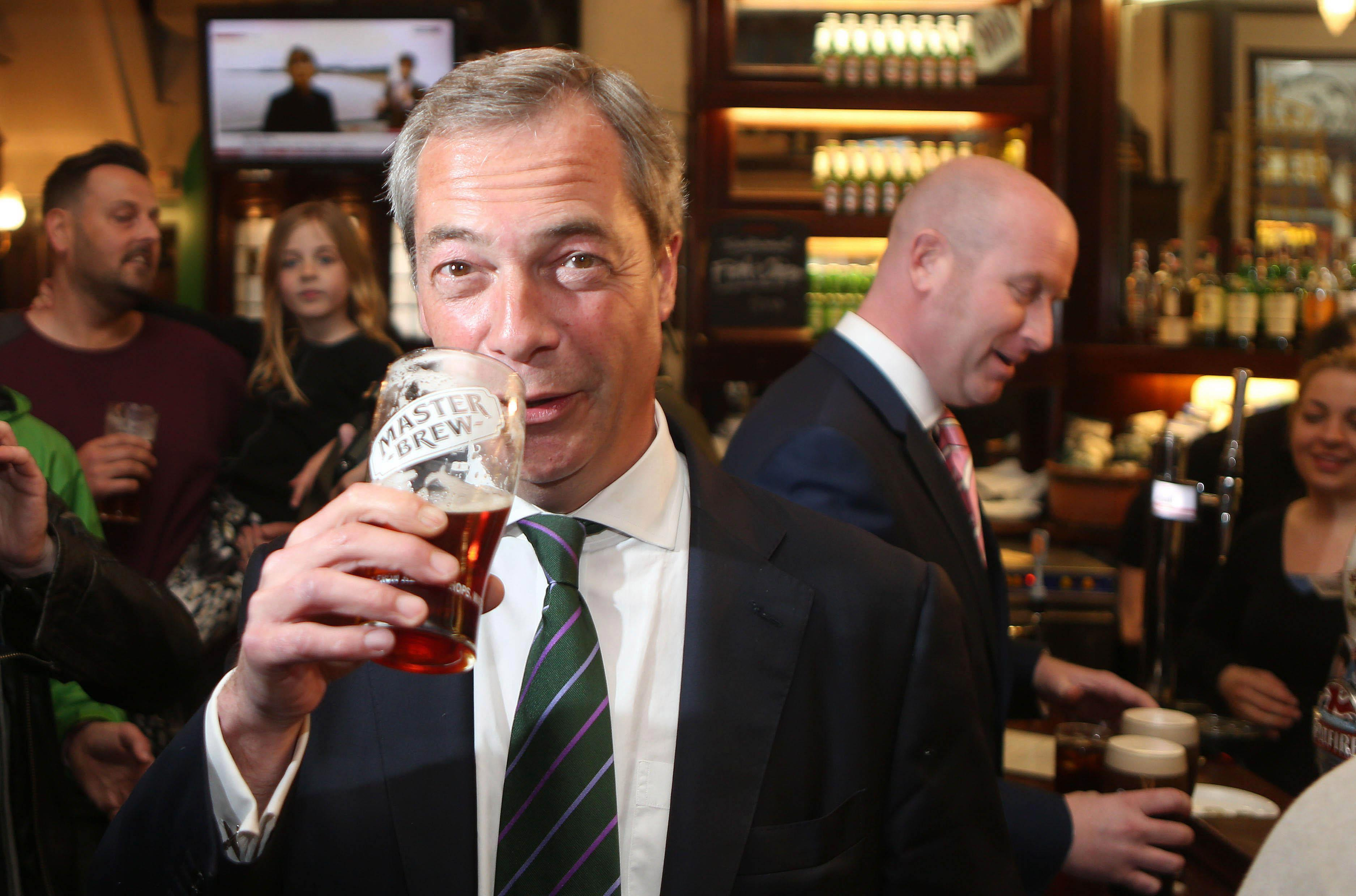Nigel Farage blamed for the collapse of Ukip as furious officials say he's still 'pulling strings' in the party