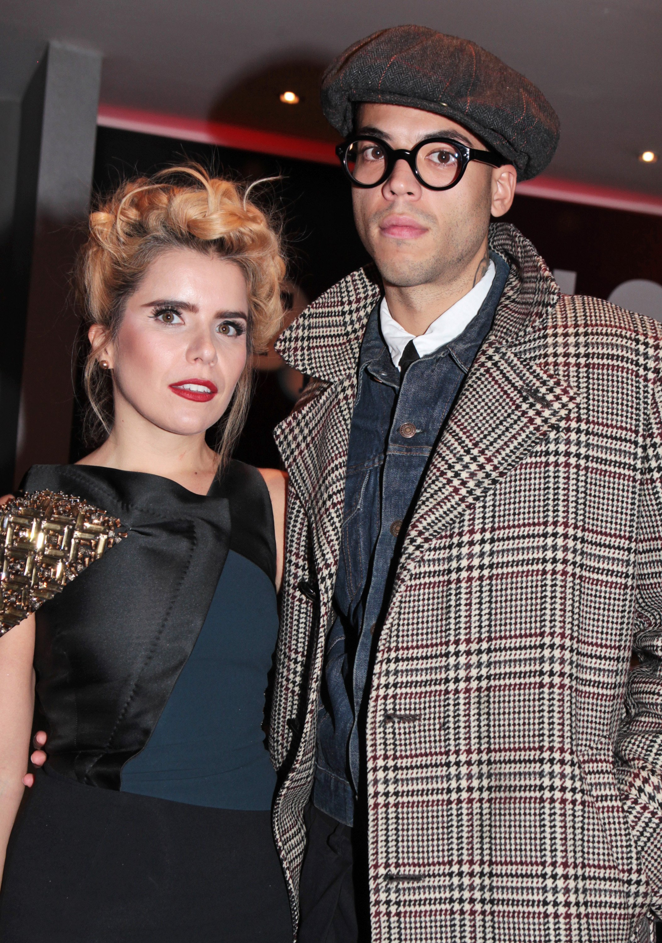When did Paloma Faith have her baby, do we know the name and gender and who's her partner Leyman Lahcine?