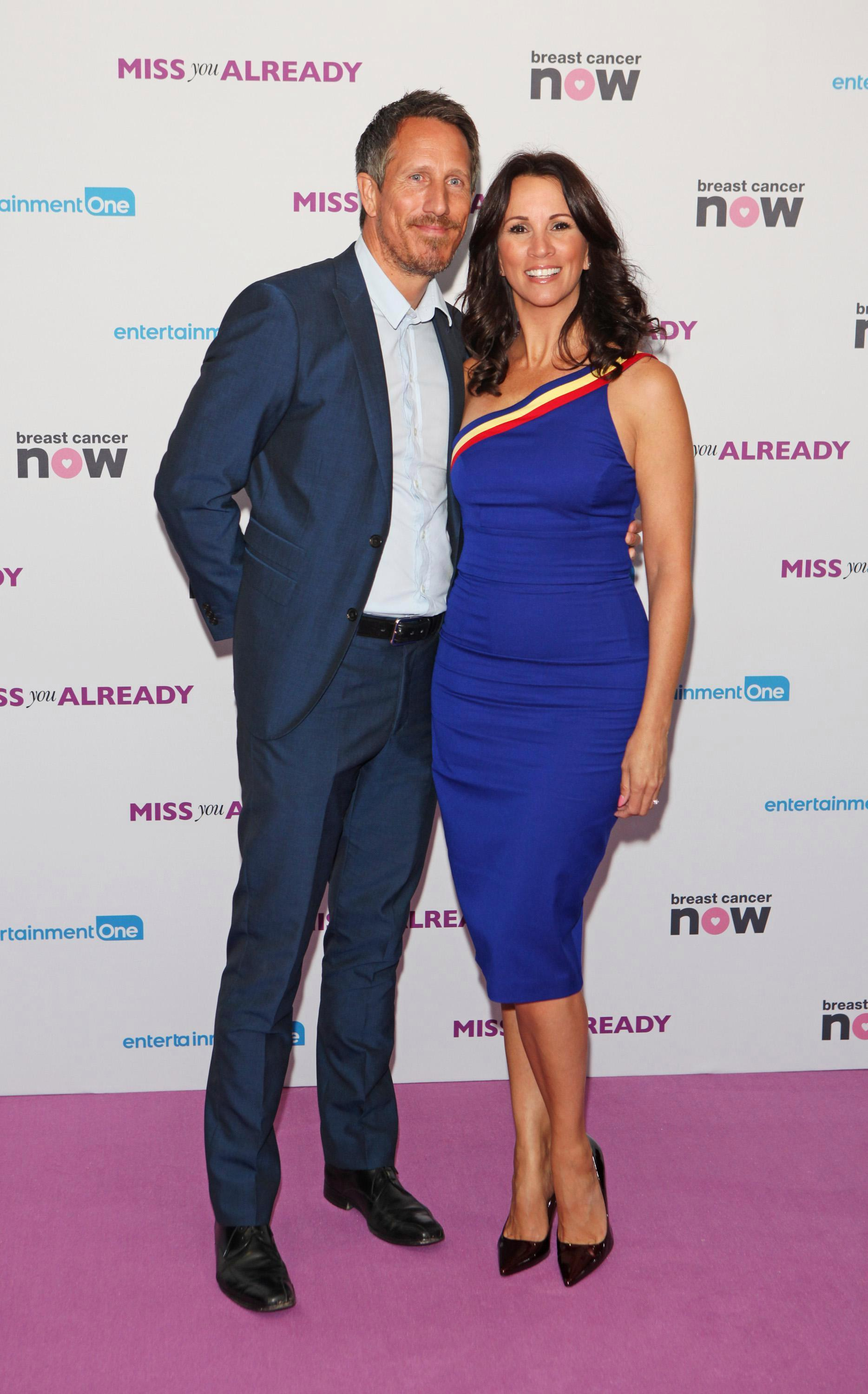 Who is Nick Feeney? Andrea McLean's husband and businessman who married the Loose Women star in 2017