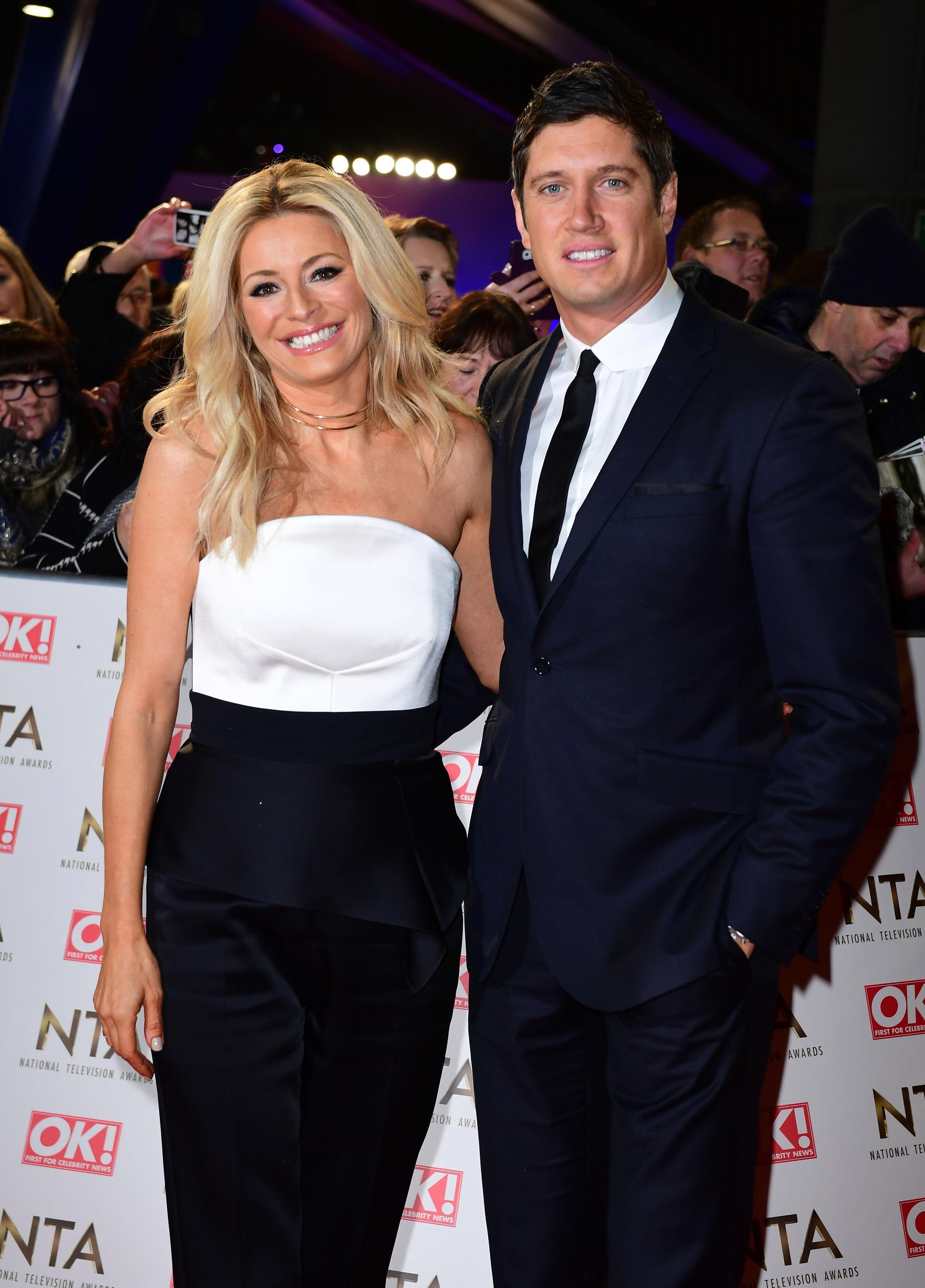 Tess Daly 'upset' after husband Vernon Kay is wrongly linked to Presidents Club dinner scandal