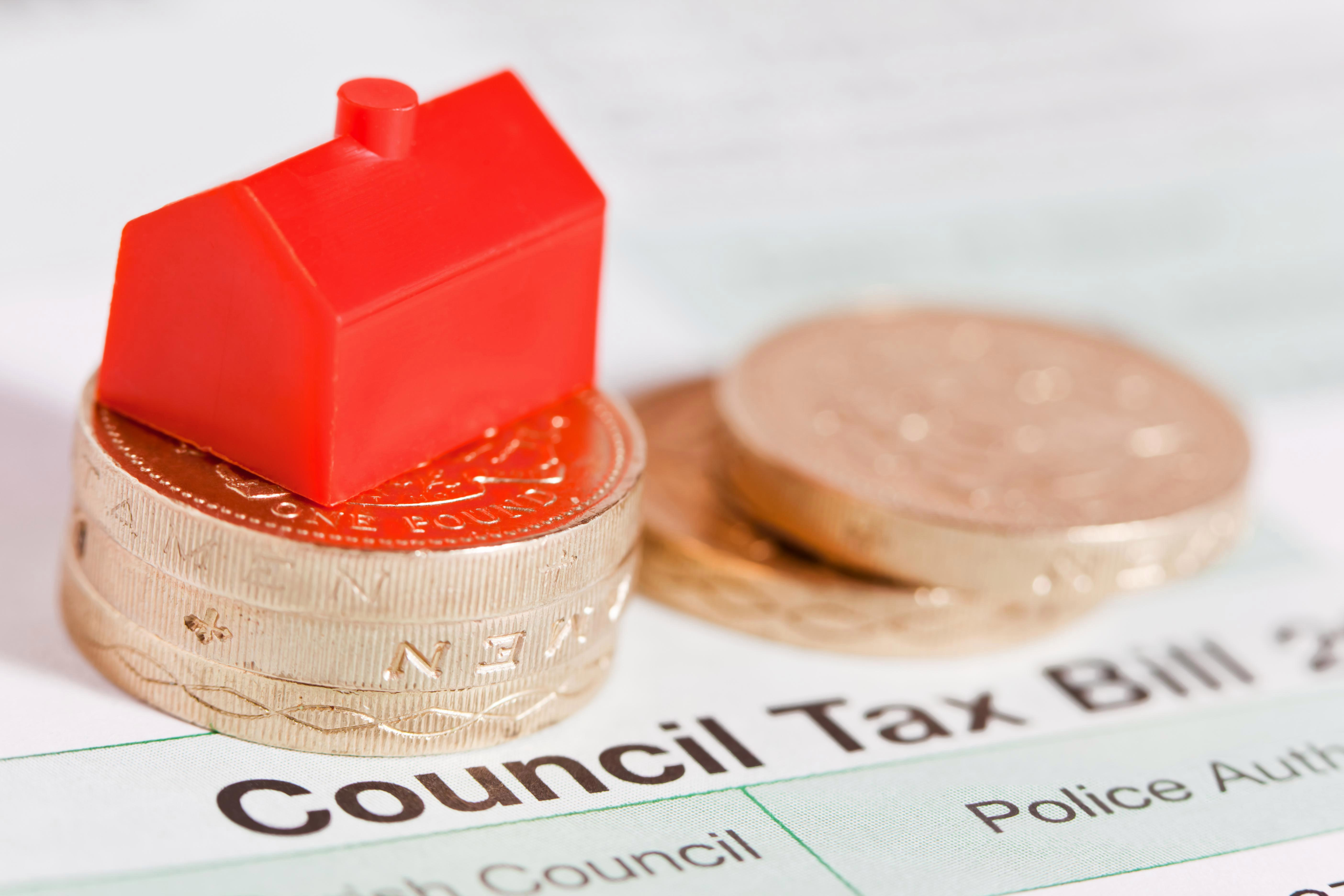 Council tax bills for squeezed Brits have rocketed by 57% in the last 20 years