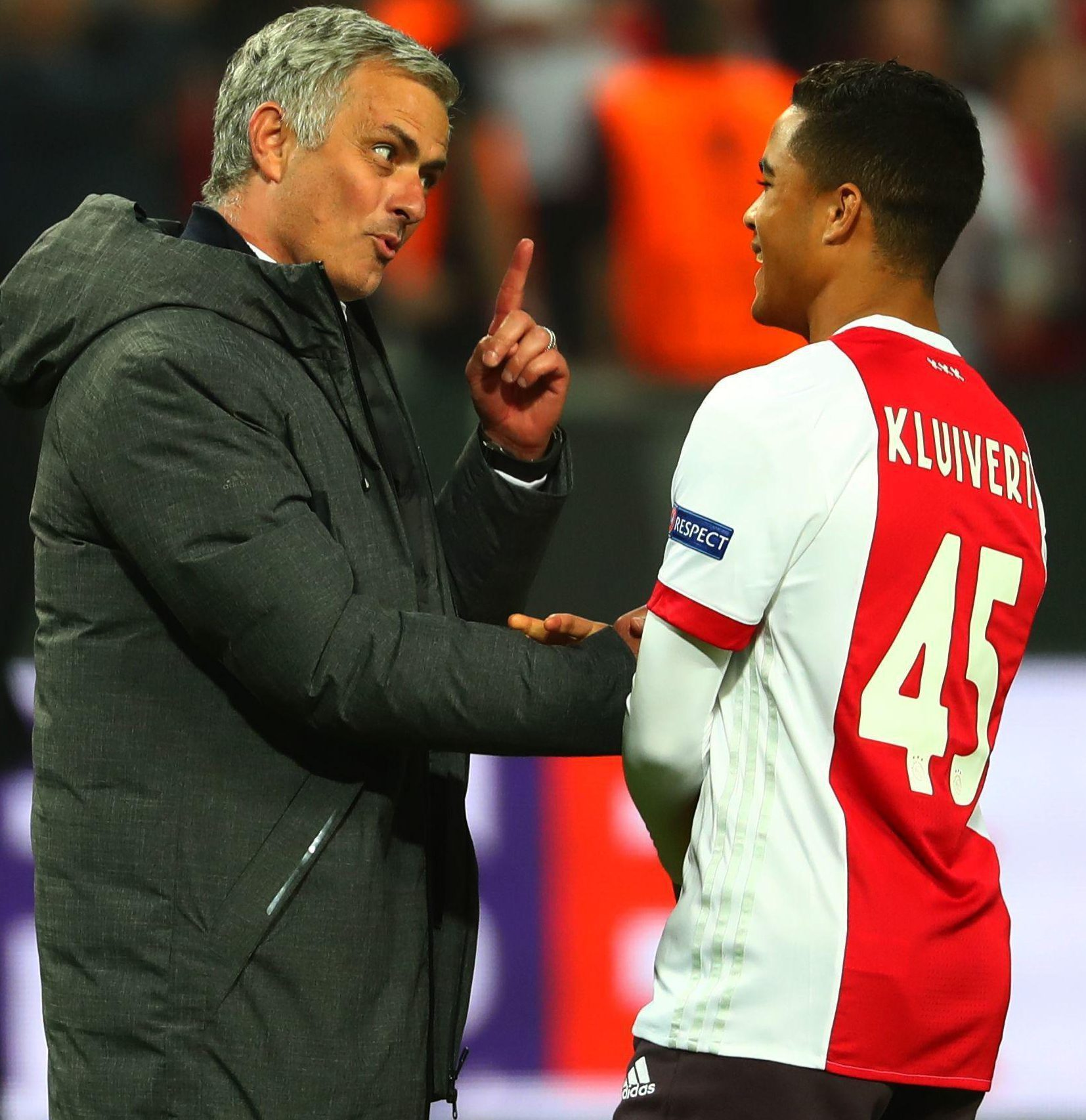 Manchester United target Justin Kluivert reveals what Jose Mourinho told him after Europa League final