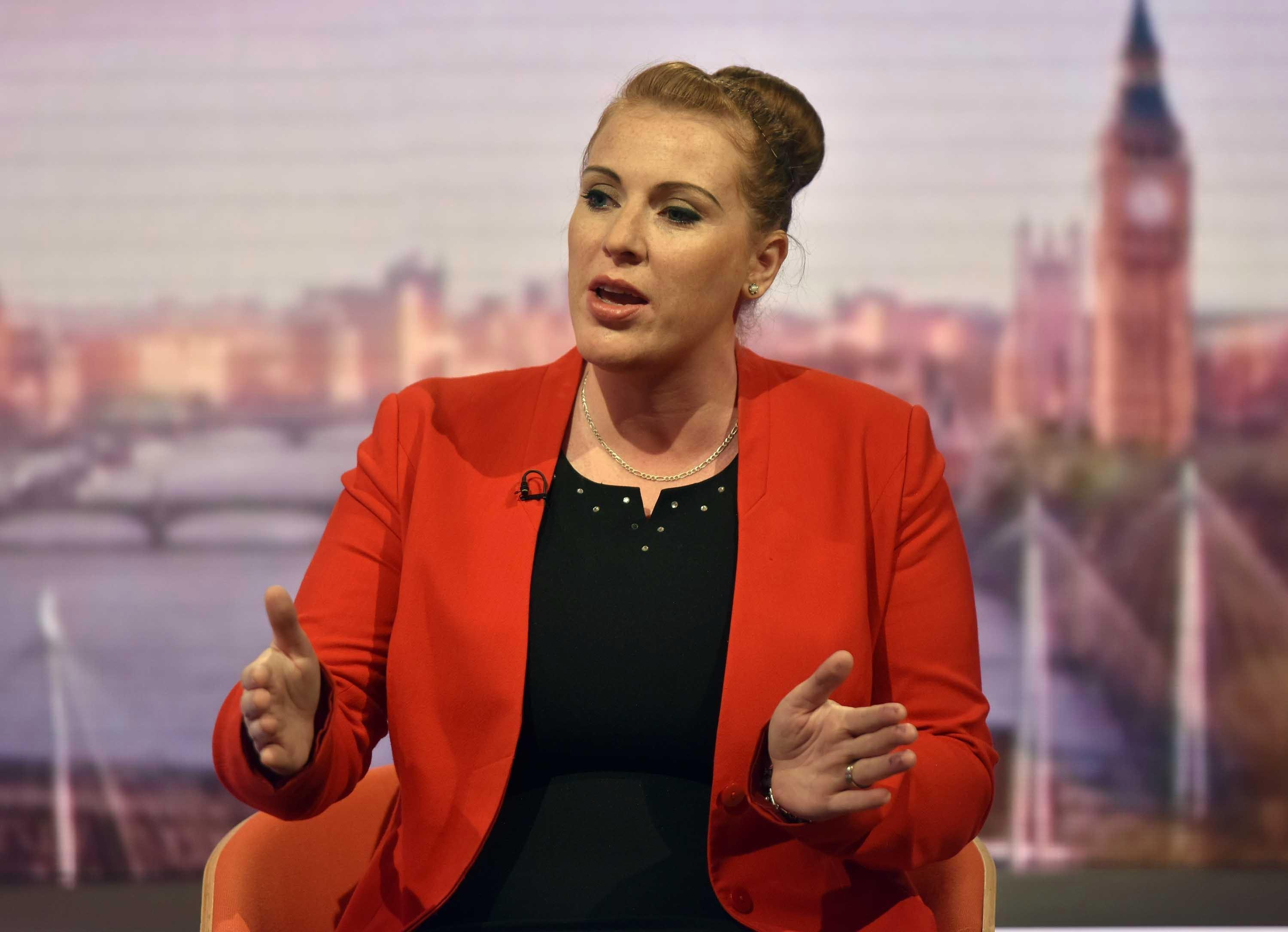 Corbyn ally Angela Rayner admits poor white boys have suffered from Labour's obsession with women and minorities
