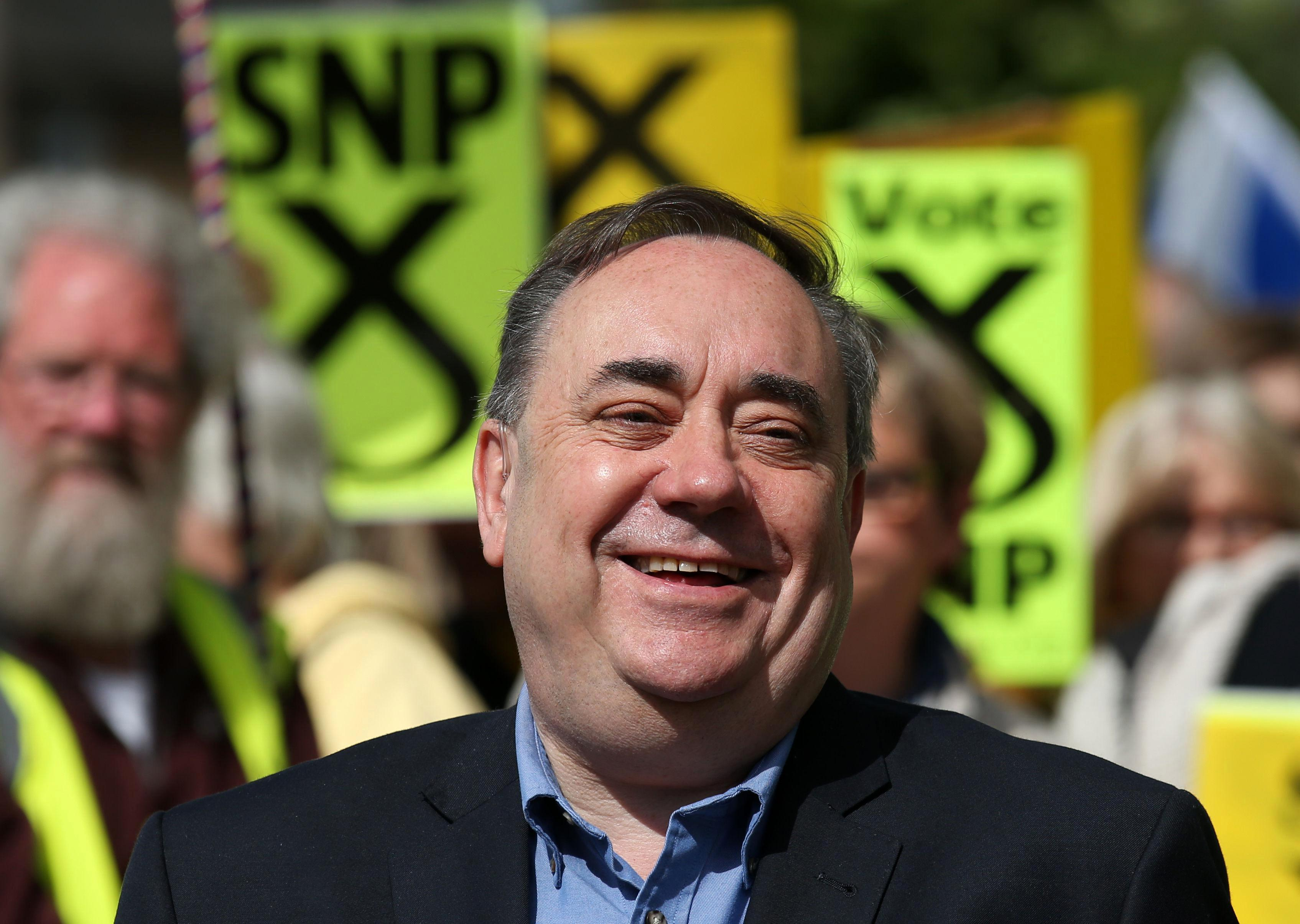 Alex Salmond bills taxpayer £30k for his office AFTER losing his seat despite raking it in on Kremlin-backed propaganda channel