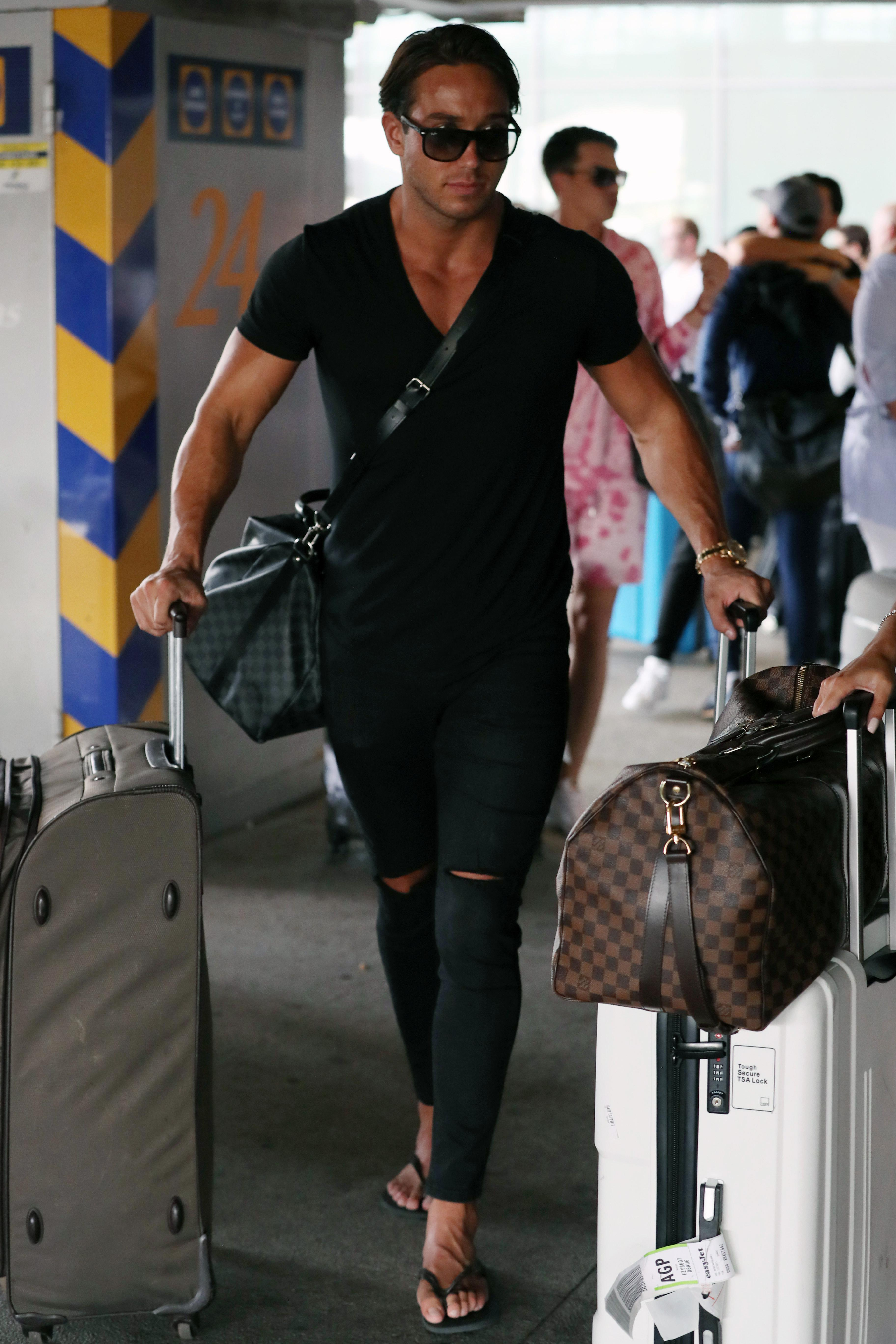 Towie's James Lock begs bosses to send cast to Dubai instead of 'Tenegrief'