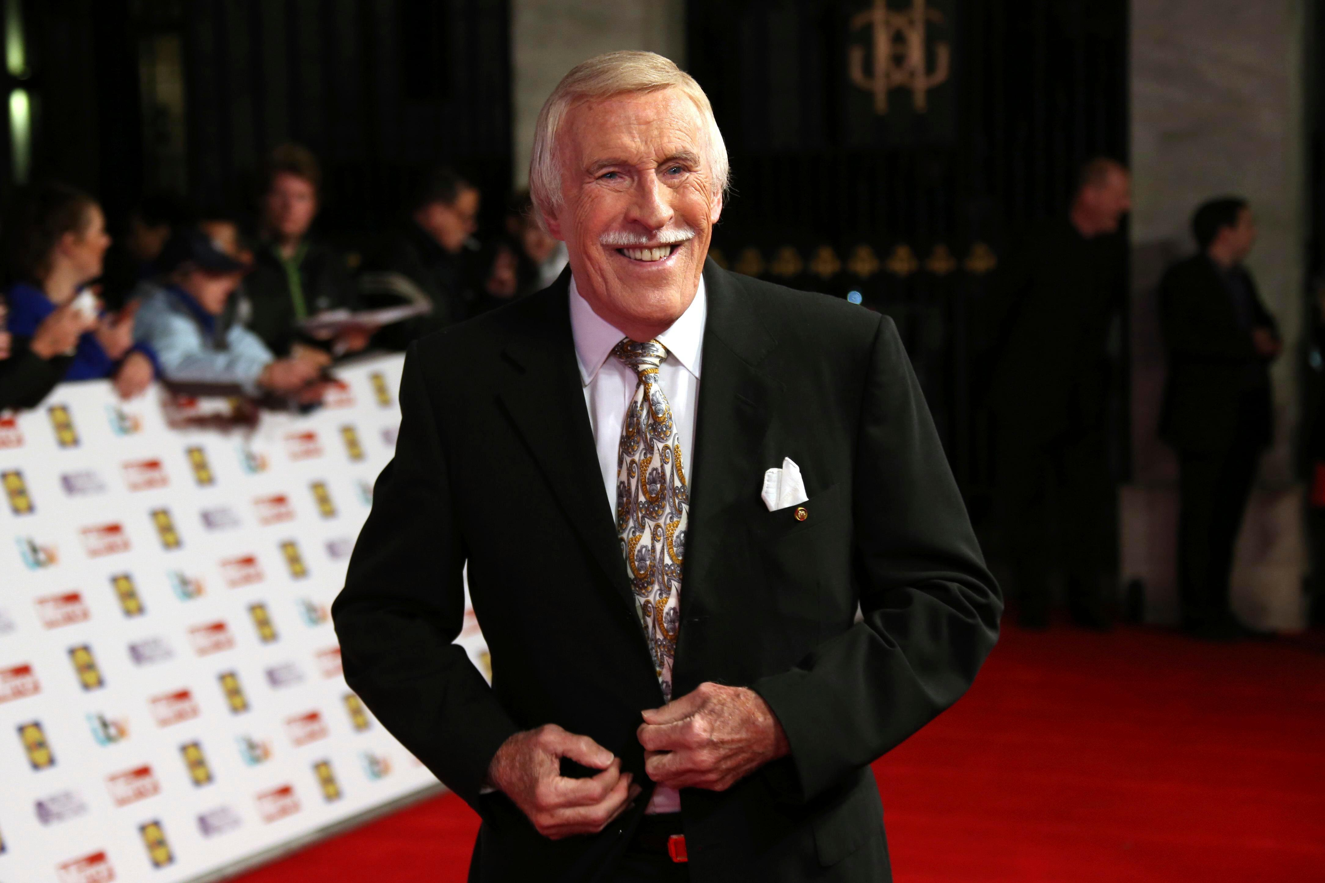When was Sir Bruce Forsyth's funeral, how did the Strictly Come Dancing host die and how have fellow celebrities paid tribute?