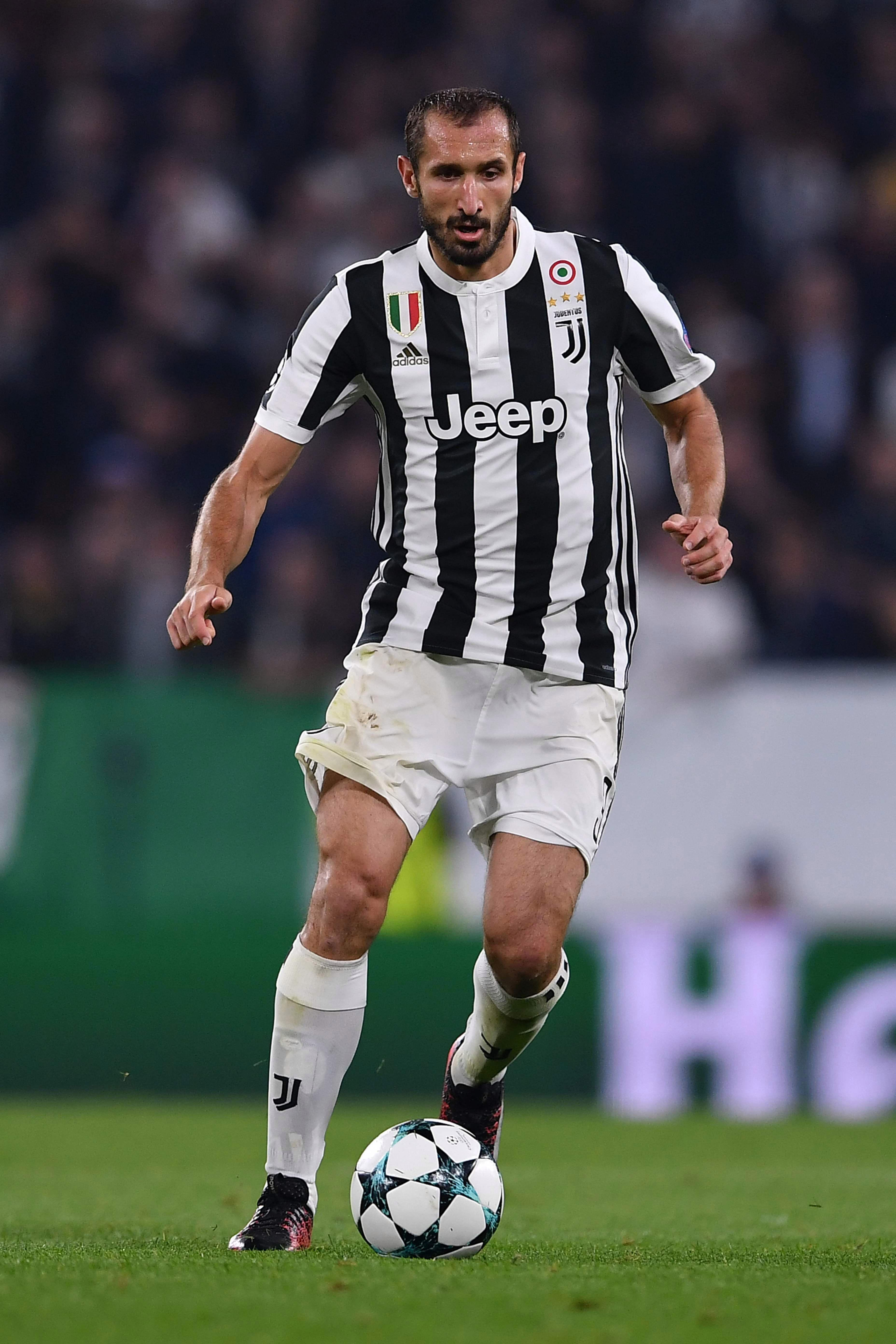 Chelsea dealt blow in hope of landing Giorgio Chiellini as he hints at signing new Juventus contract