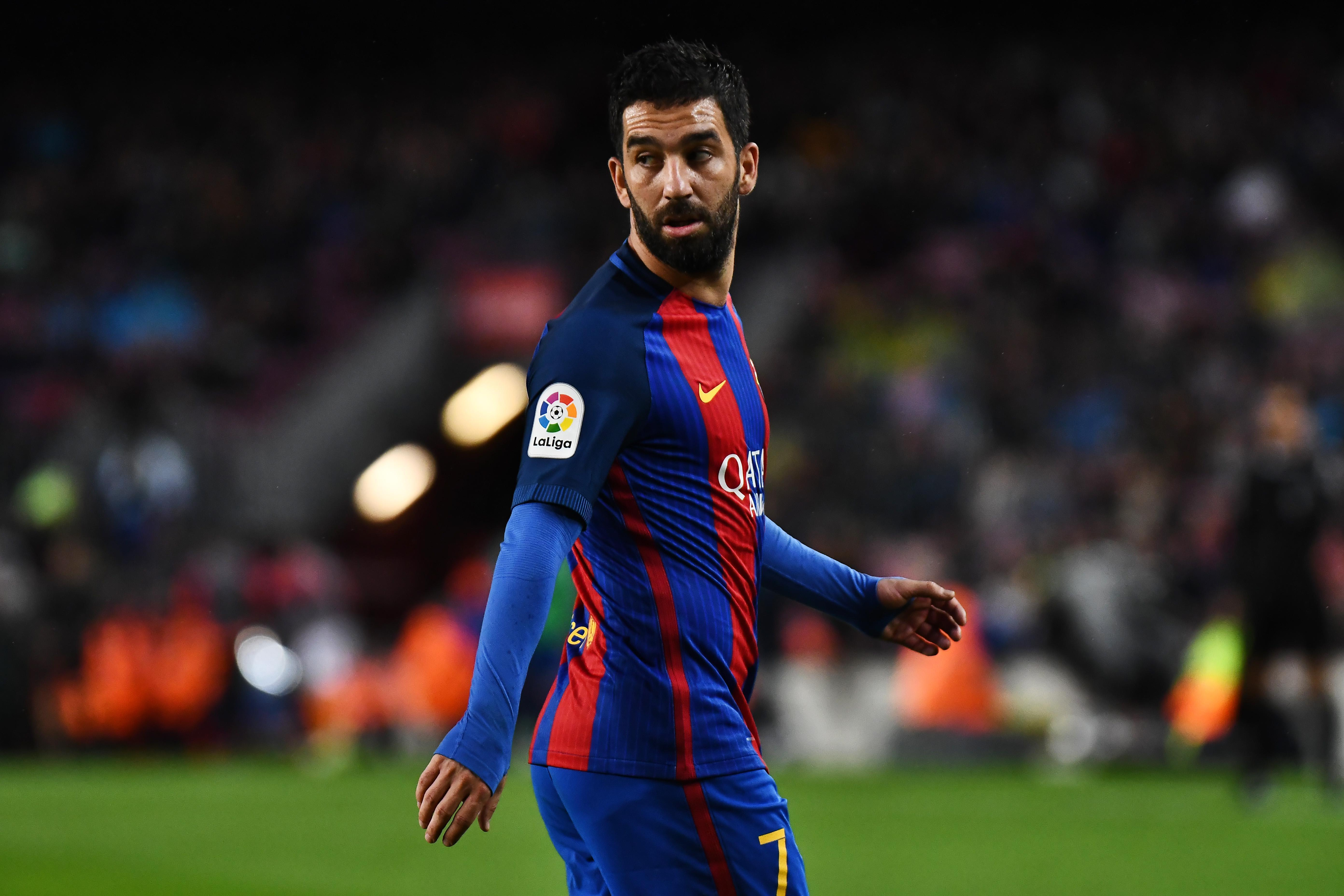 Barcelona outcast Arda Turan in talks to join MLS outfit Chicago Fire, as La Liga side plot major January offload