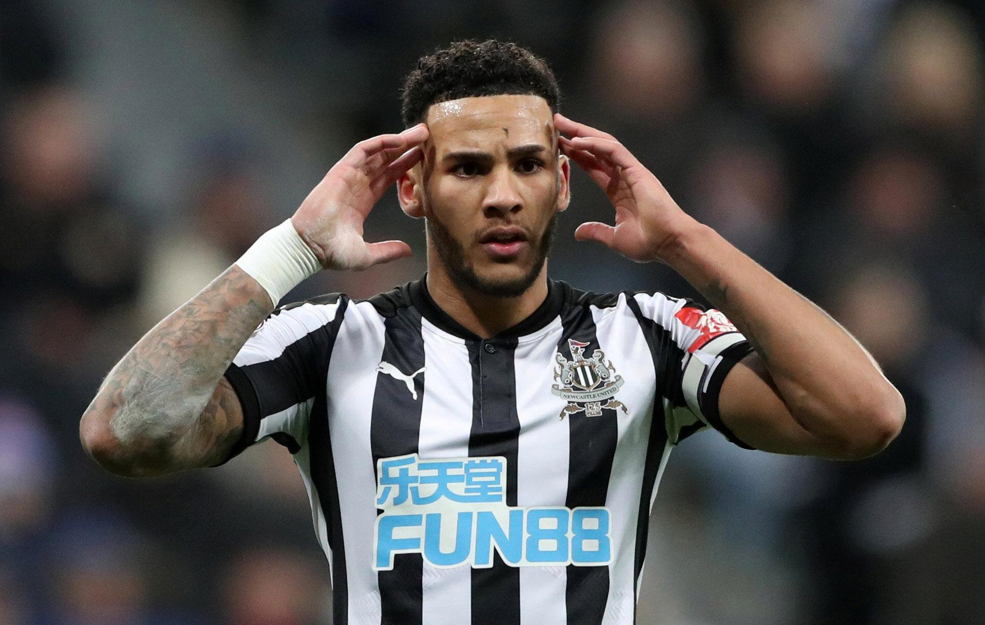 Newcastle captain Jamaal Lascelles picks up injury during FA Cup third-round clash with Luton… and fans are furious