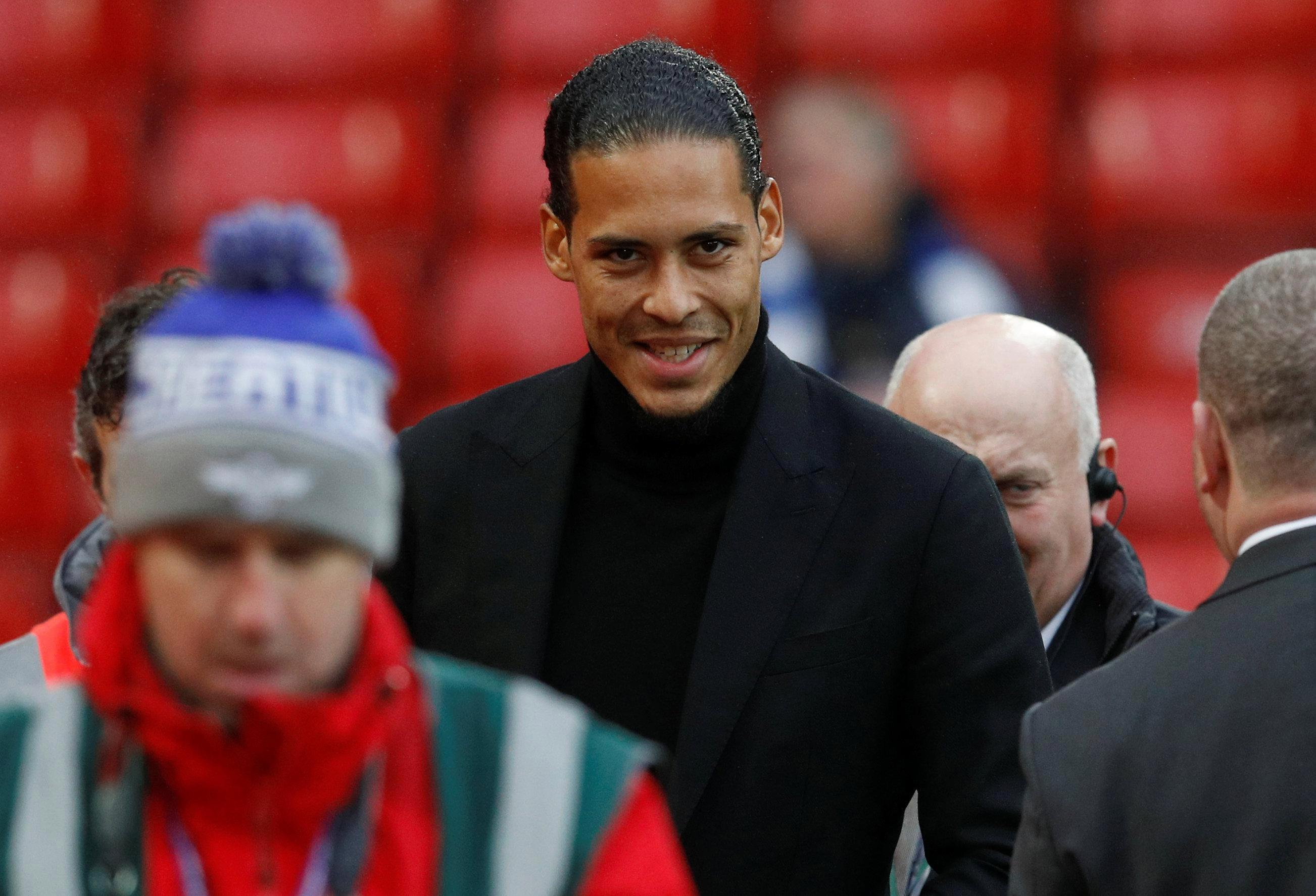 Virgil van Dijk describes Liverpool as the 'perfect match for him and his family' after defender completes world record Anfield switch