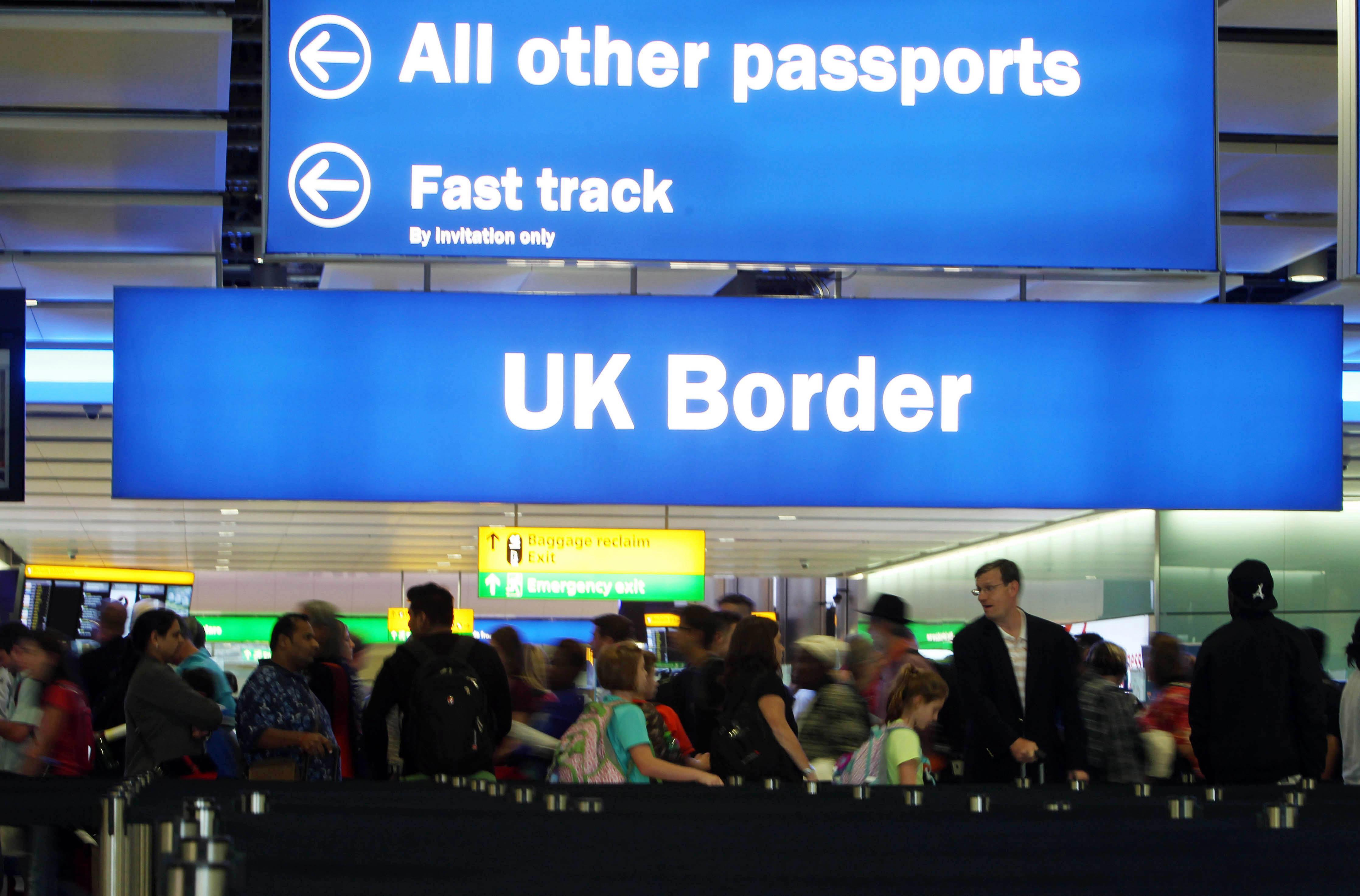 Airlines to be hit with £50,000 fines for allowing hundreds of passengers every year to bypass border control and enter the UK without clearance
