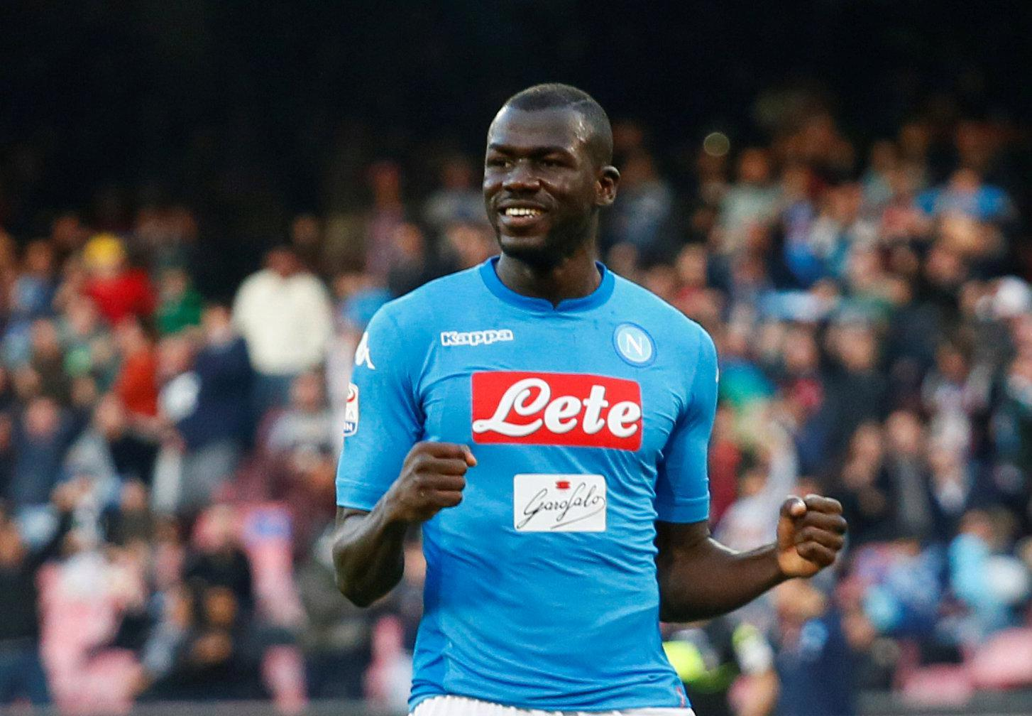 Chelsea target Kalidou Koulibaly suffers racist abuse and has bottle thrown at him in Napoli win over Atalanta