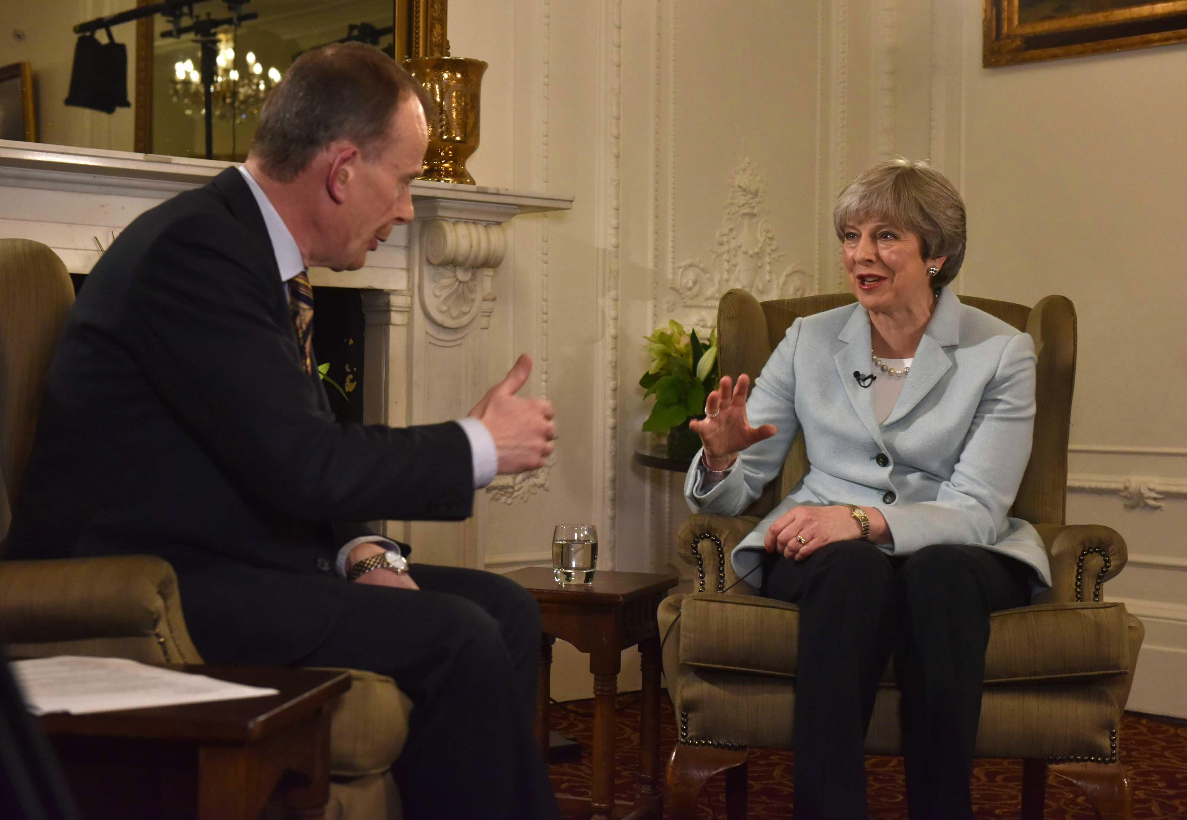 Andrew Marr confronts Theresa May over NHS winter crisis saying he would have died without swift medical care after having a stroke