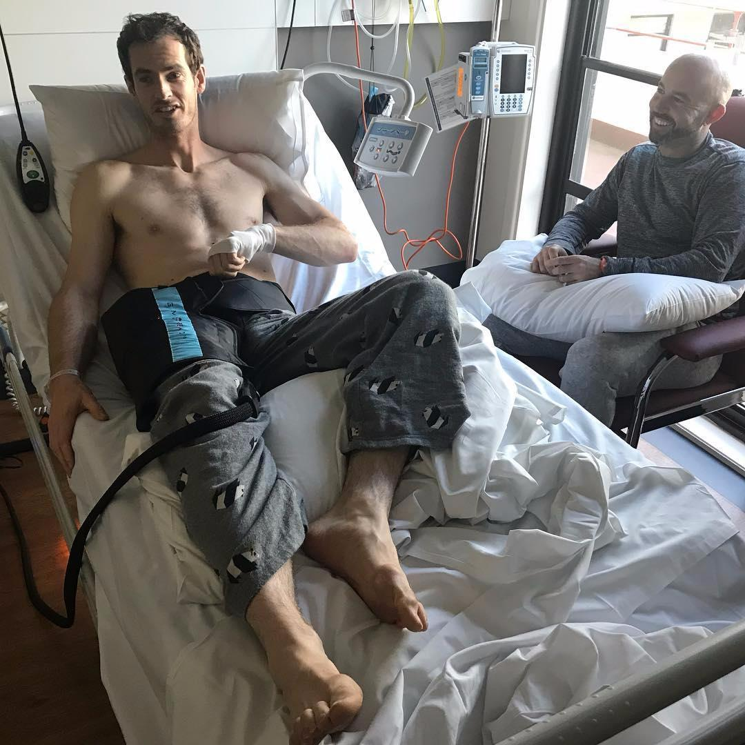 Andy Murray undergoes hip surgery and targets Wimbledon return after Australia Open pull-out