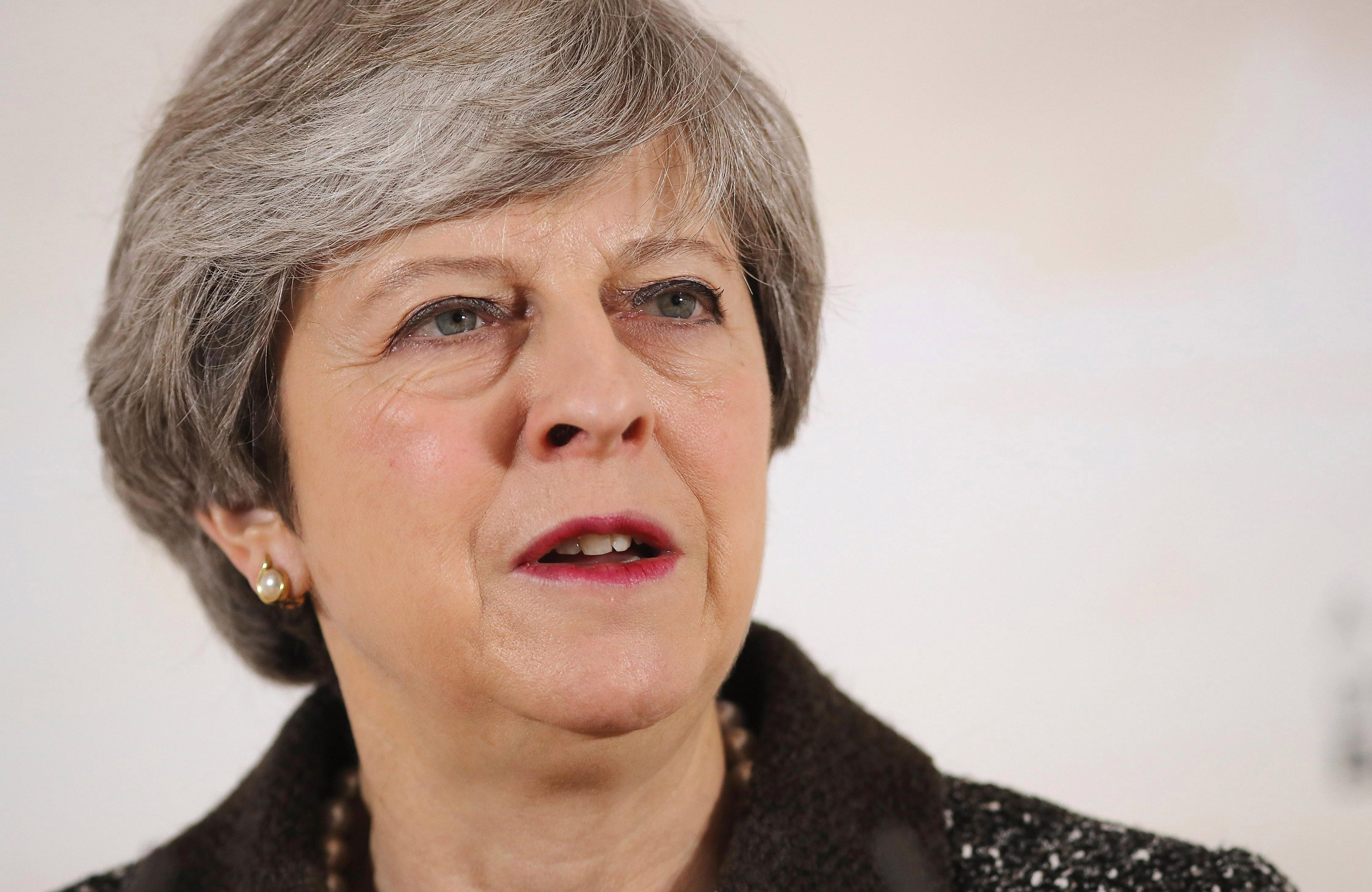 Theresa May is set to overturn a Lords vote which would enforce a Leveson-style inquiry into the media