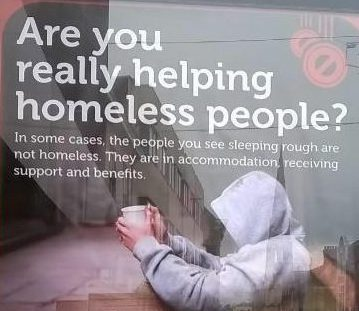 Council accused of 'demonising the homeless' by urging public not to give cash – as they may be FAKE