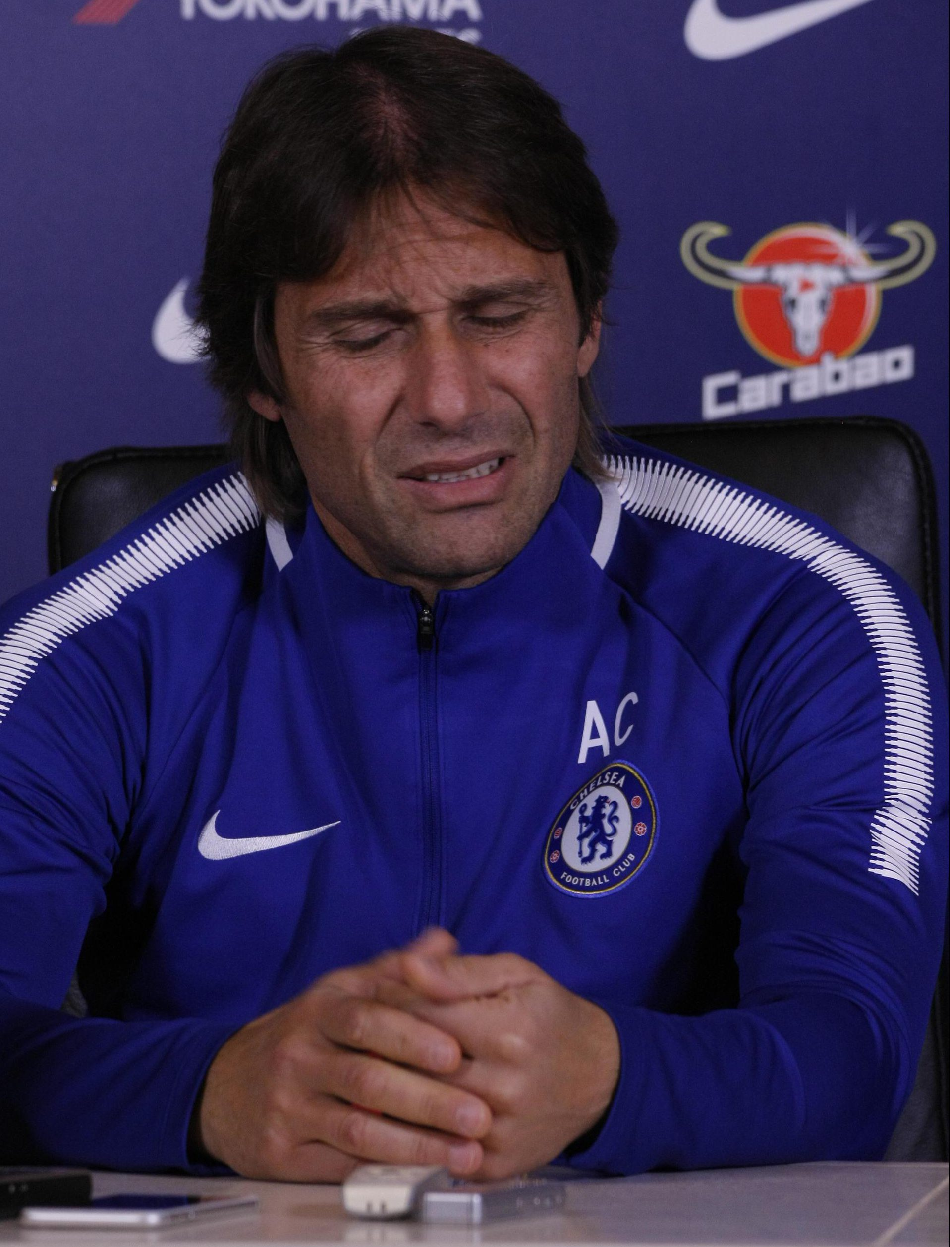 Antonio Conte admits Chelsea can no longer compete for transfers with Manchester United and City